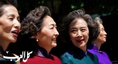 صور: عرض أزياء غريب في بكين