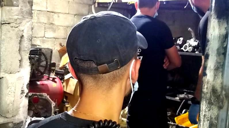 باقة: حملة للشرطة في منطقة الكراجات