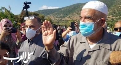نقل الشيخ رائد صلاح للعزل بسجن عسقلان