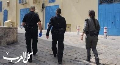 عكا: الشرطة ستحرر مخالفات على الكمامات