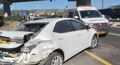 وادي عارة: 4 اصابات في حادث طرق