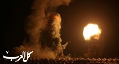 اطلاق قذائف من غزة والجيش الاسرائيلي يقصف مواقعًا