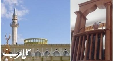 الناصرة| الشيخ عكرمة صبري يخطب بمسجد النبي سعين