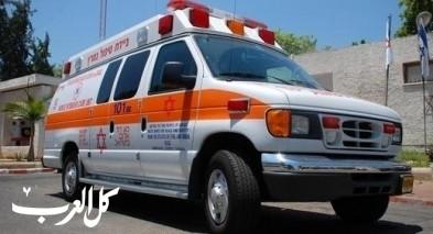 طيرة الكرمل: إصابة عامل بواسطة منشار
