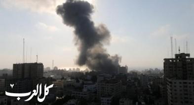 الجيش الإسرائيلي يقصف مواقع في غزّة