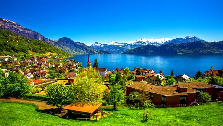 صور| لوسيرن.. تفاحة سويسرا الذهبية