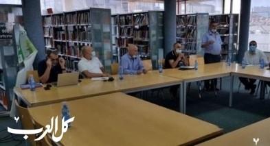 مجلس حورة يتباحث افتتاح العام الدراسي