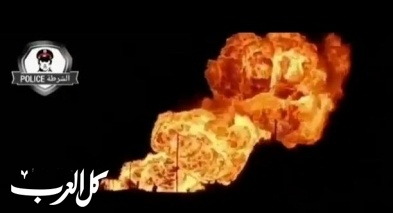 إنقطاع الكهرباء عن سوريا إثر إنفجار
