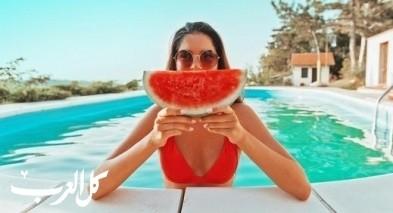 تعرفوا على فوائد البطيخ الأحمر