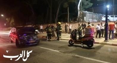 عسفيا: اصابة 3 اشخاص بحادث طرق