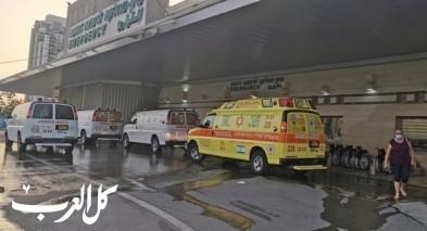النقب: إصابة شاب بحادث طرق على شارع 31