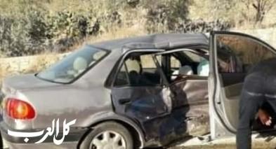 الضفة: إصابات بينها خطيرة جرّاء حادث