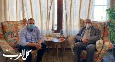 الدكتور داوود الزعتري يلتقي د صفوت ابو ريا