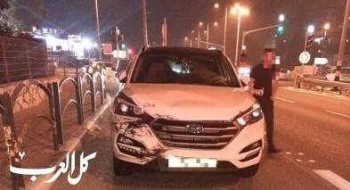 مصمص: حادث طرق يسفر عن إصابتين