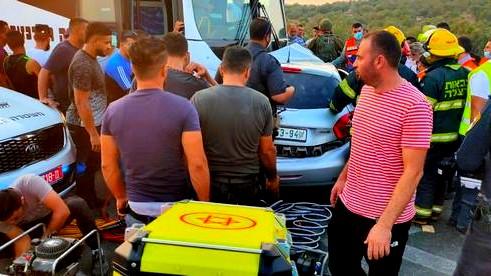 الضفة: مصرع 4 أشخاص بحادث طرق مروّع