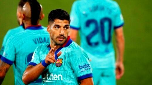 لويس سواريز يتجه لمشاركة اللعب مع رونالدو بعد ميسي