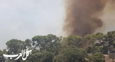 السيطرة على الحريق الهائل في جبل الطور