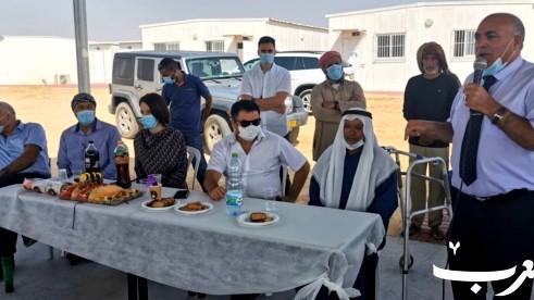 افتتاح أول مدرسة ابتدائية في قرية رخمة