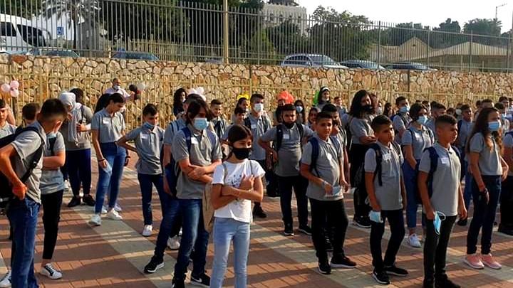ديرحنا: إفتتاح مدرسة القلعة الإعدادية