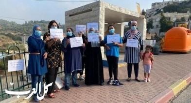 عين رافا - القدس| إعلان الإضراب المفتوح بالمدارس