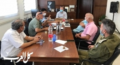 وزارة الداخلية تثني على خطة سخنين لمحاربة الكورونا