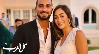 صور| محمد الشرنوبي وزوجته