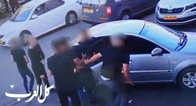 بالفيديو: إختطاف شاب في الناصرة في وضح النهار!