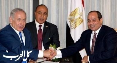 السيسي يهاتف نتنياهو: ندعم السلام!