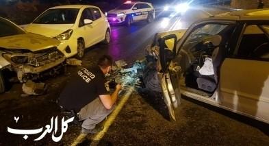 اصابة 12 شخصا بحادث طرق قرب ديرحنا