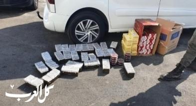 كفرياسيف: القبض على مشتبه بتهريب سجائر