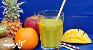سموذي المانجا بالتفاح.. صحيّ ولذيذ