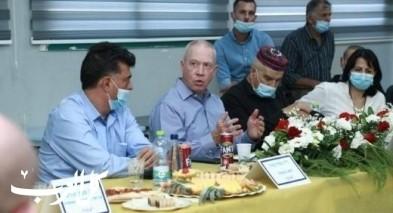 وزير التّربية يوآب غالانت يزور الشّاملة البقيعة
