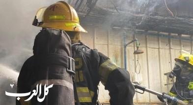 طمرة: اندلاع حريق بمطبخ منزل دون اصابات