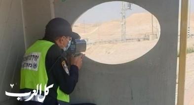 تحرير 611 مخالفة مرورية في الضفة الغربية