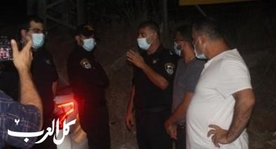 كفرقاسم: الشرطة تتابع الإلتزام بعد فرض الإغلاق