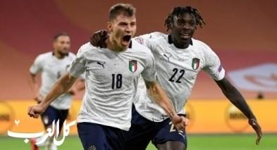 إيطاليا تفوز على هولندا بهدف نظيف في دوري الأمم