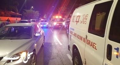 مصرع شاب بحادث بين دراجة نارية وسيارة بمركز البلاد