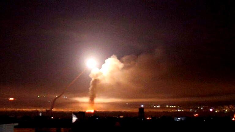 الدفاعات الجوية السورية تتصدى لصواريخ إسرائيلية