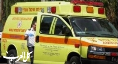 الطيرة: إصابة سائق  إثر إنزلاق دراجة نارية