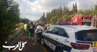 الشمال: إصابة متوسطة بحادث على شارع 85