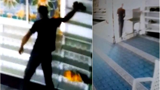 الطيبة: شخص يدخل مسجدًا ويسرق أحذية