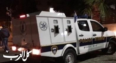 اصابة جرّاء اطلاق رصاص في جلجولية