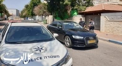 الرملة: الشرطة تقوم بأنشطة توعية وارشاد