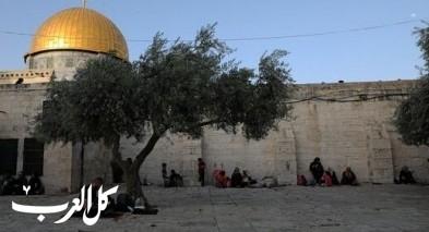 إغلاق المسجد الاقصى أمام المصلين والزوار
