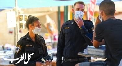 كورونا- تحرير 1400 مخالفة في اليوم الاخير