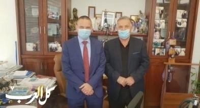 وزير العلوم والتكنولوجيا يزور بلدية الناصرة