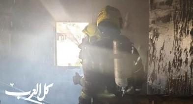 أم الفحم: اندلاع حريق داخل شقة سكنية