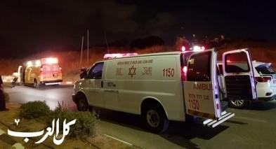 كسيفة: اصابة فتى اثر اصطدام بين دراجة وسيارة