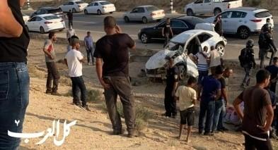 إصابة شاب جرّاء انقلاب سيارة قرب شقيب السلام