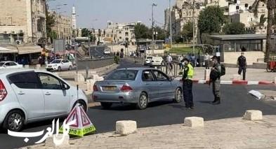 القدس: إغلاق منطقة باب العامود بالحواجز